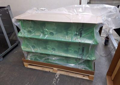 Kurbelgehäuse Modulverpackungen